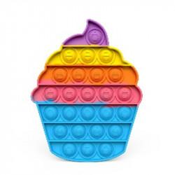 "Pop It ""Cupcake"" Regnbue"